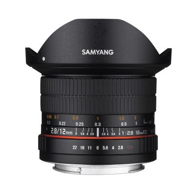 Samyang camera lens: 12mm F2.8 ED AS NCS - Zwart