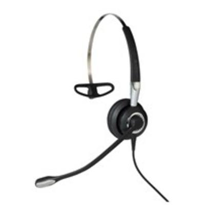 Jabra Biz 2400 II QD Mono NC 3-in-1 Wideband Headset - Zwart, Zilver