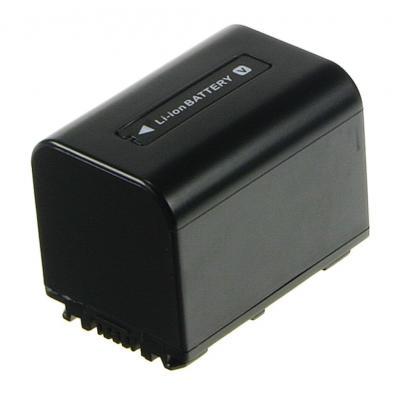 2-power batterij: Camcorder Battery 7.2v 1620mAh - Zwart
