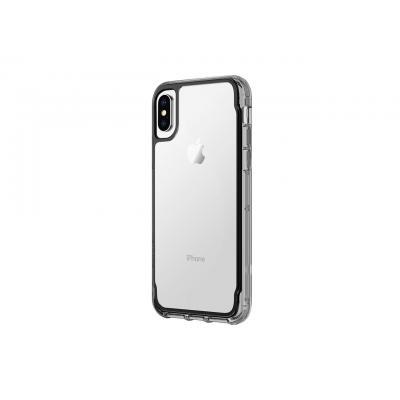 Griffin Survivor Clear for iPhone X Mobile phone case - Zwart, Transparant