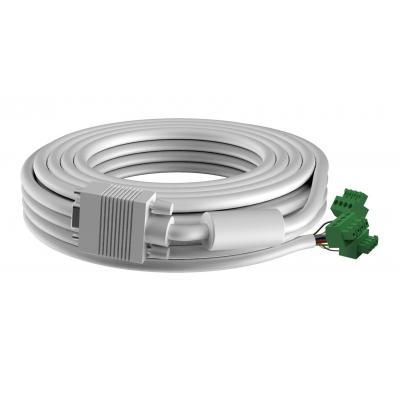 Vision VGA kabel : Techconnect 3m VGA cable - Wit