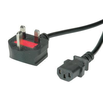 Value 19.99.2019 Electriciteitssnoer - Zwart