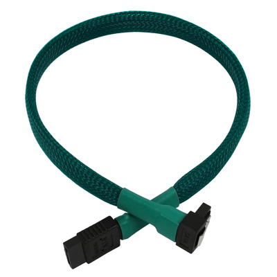 Nanoxia 900500031 ATA kabel - Zwart, Groen
