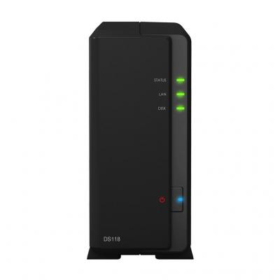Synology DiskStation DS118 NAS - Zwart