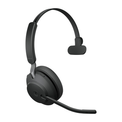 Jabra Evolve2 65 UC Mono USB-A Headset - Zwart