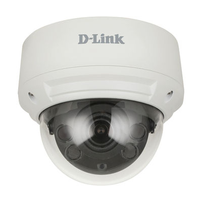 D-Link Vigilance 8 Megapixel H.265 Outdoor Dome Camera DCS‑4618EK Beveiligingscamera - Wit