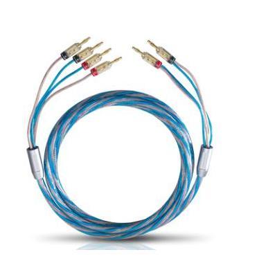 Oehlbach : 3m Bi Tech 4 Bi-Wiring - Blauw