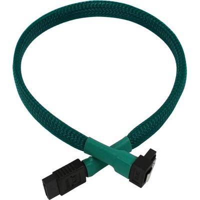 Nanoxia SATA 6GB/s, 0.3 m ATA kabel - Groen