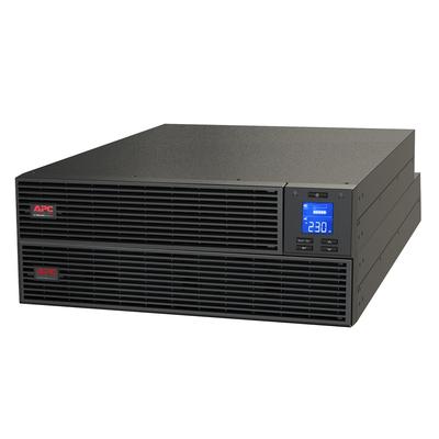 APC Easy-On-Line 2000VA Noodstroomvoeding 4x C13, USB, Railkit, extendable runtime UPS - Zwart