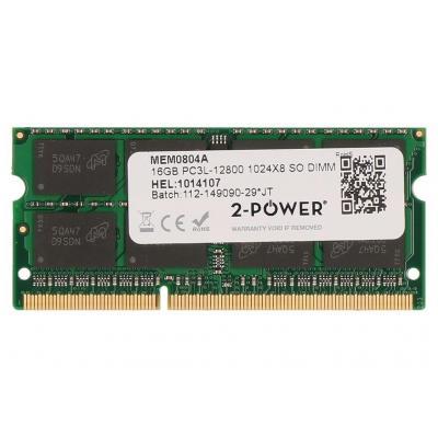 2-power RAM-geheugen: 16GB DDR3L 1600MHz SODIMM Memory - Groen