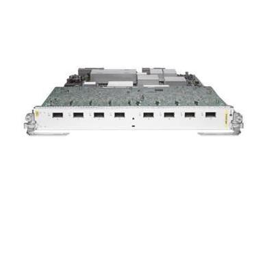 Cisco 8-Port 10GE Medium Queue Line Card, requires XFPs, RF netwerk switch module