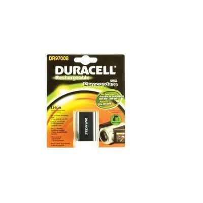 Duracell batterij: Camcorder Battery 7.4v 1640mAh - Zwart