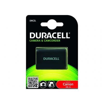 Duracell batterij: DRC2L, 650 mAh, 7.4V - Zwart