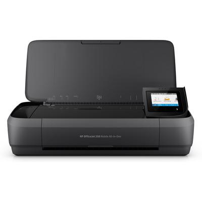 HP OfficeJet 250 Mobile Multifunctional - Zwart, Cyaan, Magenta, Geel