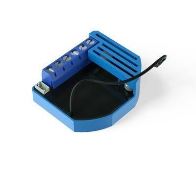 Qubino dimmer: Flush Dimmer 0-10V - Zwart, Blauw