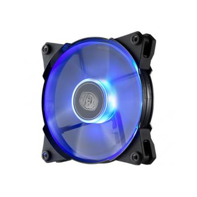 Cooler master Hardware koeling: JetFlo 120 - Zwart, Doorschijnend