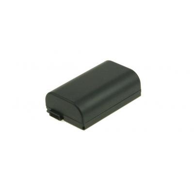 2-power batterij: Battery for Camcorder - Li-Ion, Black - Zwart