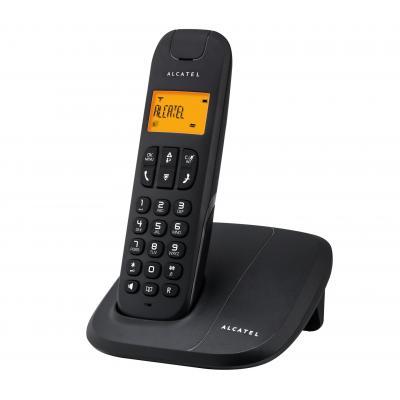Alcatel dect telefoon: Delta 180 - Zwart