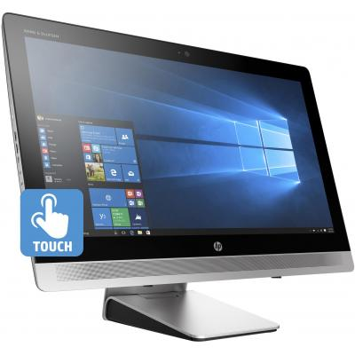 "Hp all-in-one pc: EliteOne EliteOne 800 G2 58.4 cm (23"") Touch All-in-One PC (ENERGY STAR) - Zwart, Zilver (Renew)"