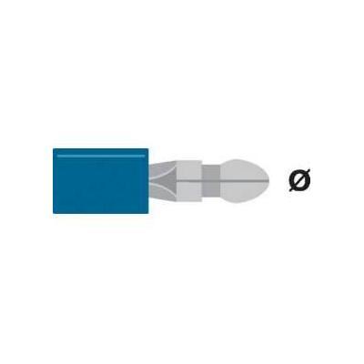 Valueline Bullet, PVC, Blue Kabel connector - Blauw