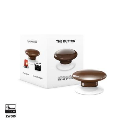 Fibaro : The Button - Bruin, Wit