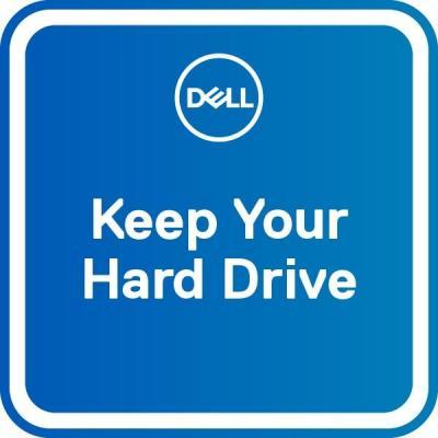 Dell garantie: 5 jaar Keep Your Hard Drive