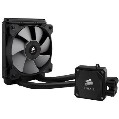 Corsair water & freon koeling: H60 - Zwart