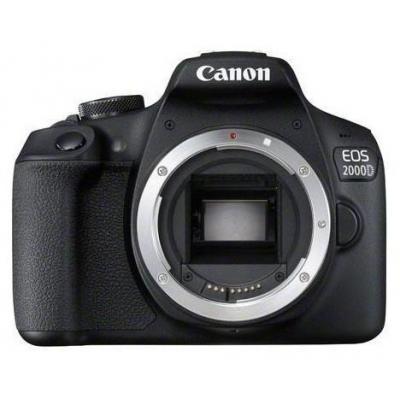 Canon EOS 2000D BK BODY EU26 Digitale camera - Zwart