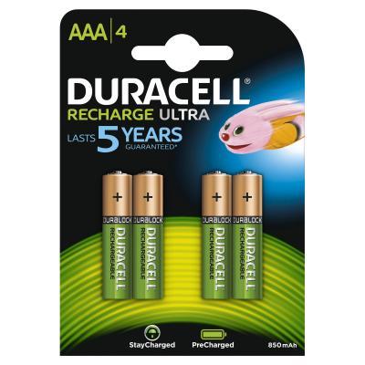 Duracell StayCharged AAA (4pcs) Batterij