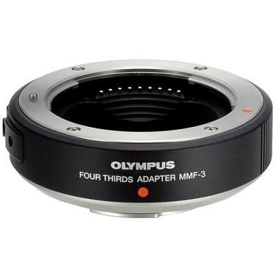 Olympus MMF-3 Lens adapter - Zwart, Zilver