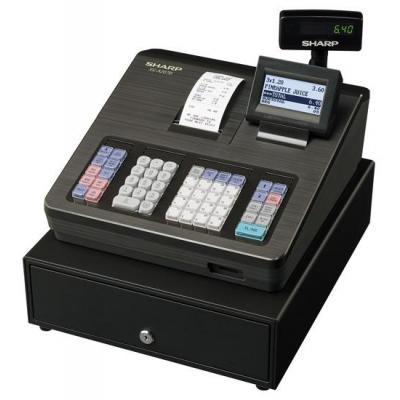 Sharp kassa: LCD, 2000 PLUs, 99 Departments