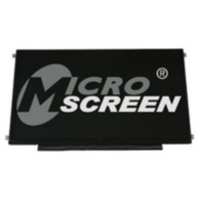 "Microscreen laptop accessoire: 43.942 cm (17.3 "") GLOSSY 1600X900 LED BL - Zwart"