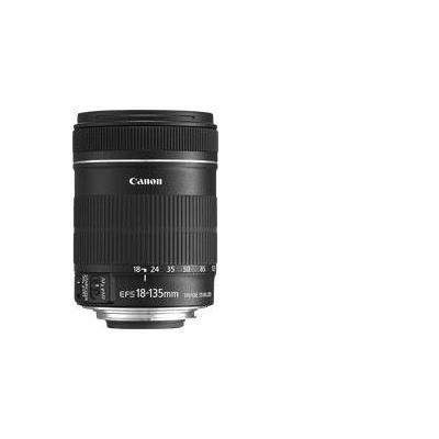 Canon camera lens: EF-S 18-135mm f/3.5-5.6 IS - Zwart