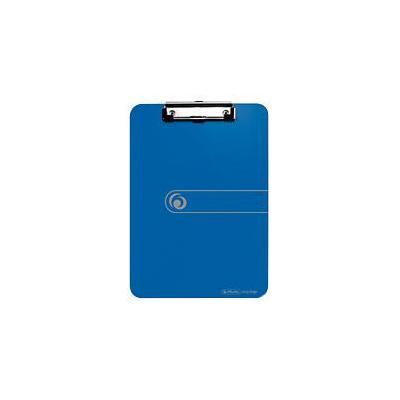 Herlitz klembord: clipboard, PS, A4 - Blauw