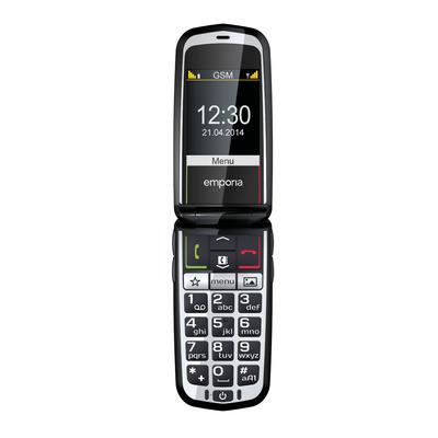 Emporia mobiele telefoon: emporiaGLAM - Zwart