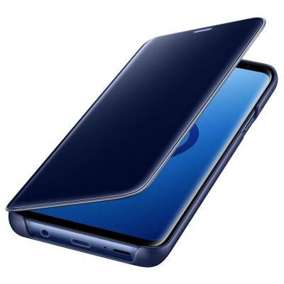 Samsung mobile phone case: S-View Flip Cover, Galaxy S9 Plus - Blauw