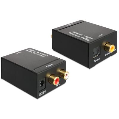 DeLOCK Digital > Analogue Audio converter - Zwart