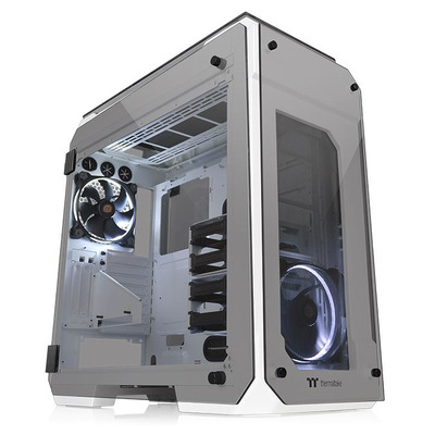 Thermaltake View 71 Tempered Glass Snow Edition Behuizing - Wit