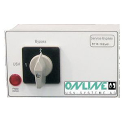 ONLINE USV-Systeme External Bypass BIS 2KVA Surge protector - Wit