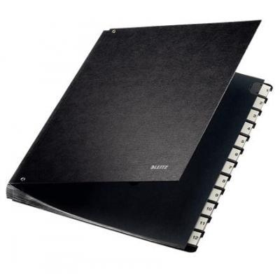 Leitz organixer: bureaumap karton - Zwart