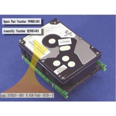 HP 9.1GB Non-Pluggable Fast-SCSI-2 hard drive interne harde schijf