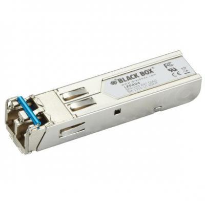 Black Box SFP, 155-Mbps Fiber with Extended Diagnostics, 1310-nm Single-Mode, Plus, 60 km, LC Netwerk .....