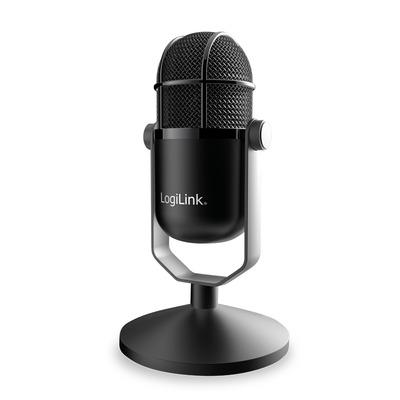 LogiLink HS0048 Microfoon - Zwart