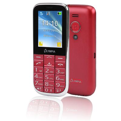 Olympia Joy II mobiele telefoon - Rood