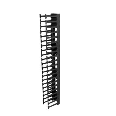 Vertiv Vertical Cable Manager for 800mm Wide 42U Rack toebehoren - Zwart