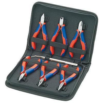 Knipex stopcontact & gereedschapset: Case for Electronics Pliers, 3pcs