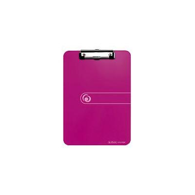Herlitz klembord: clipboard, PS, A4 - Rood
