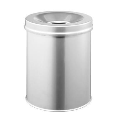 Durable 3305 Prullenbak - Zilver