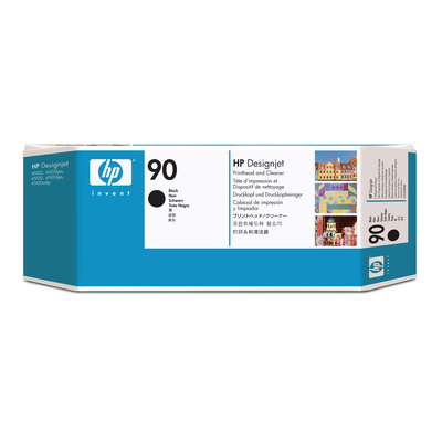 HP 90 Printkop - Zwart