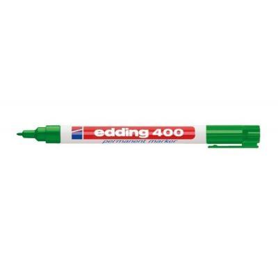 Edding marker: 400 - Groen, Wit